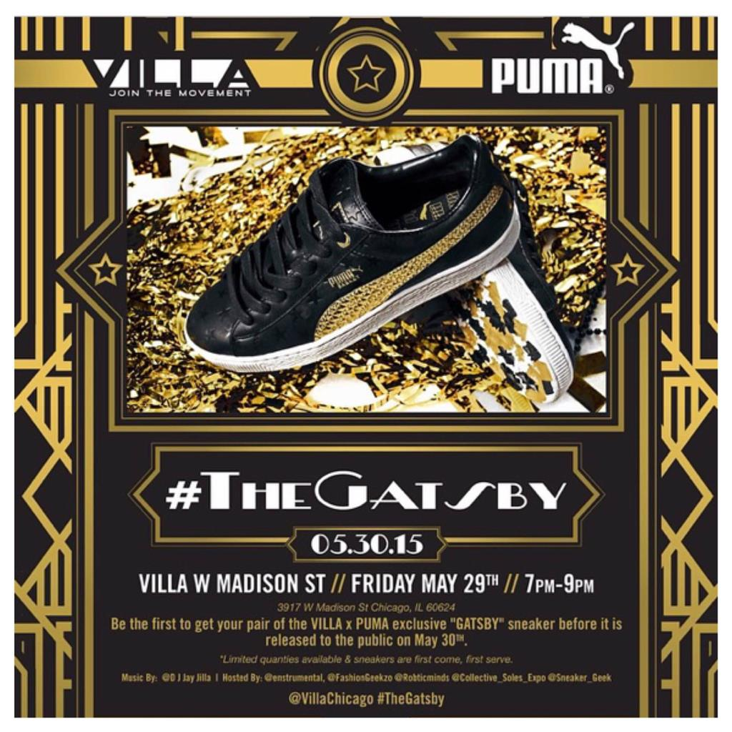 New Event: 'The Gatsby' 1920's Puma Release Party At Villa