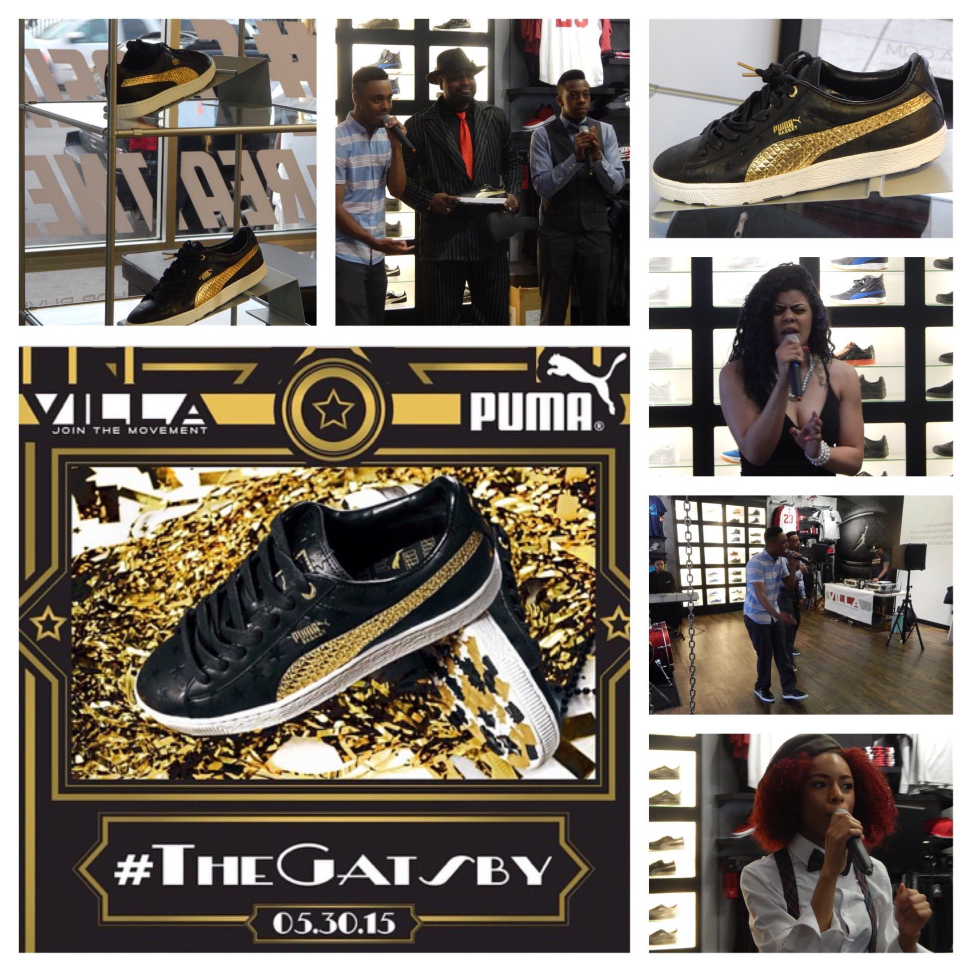 'The Gatsby' 1920's Puma Release Party At Villa