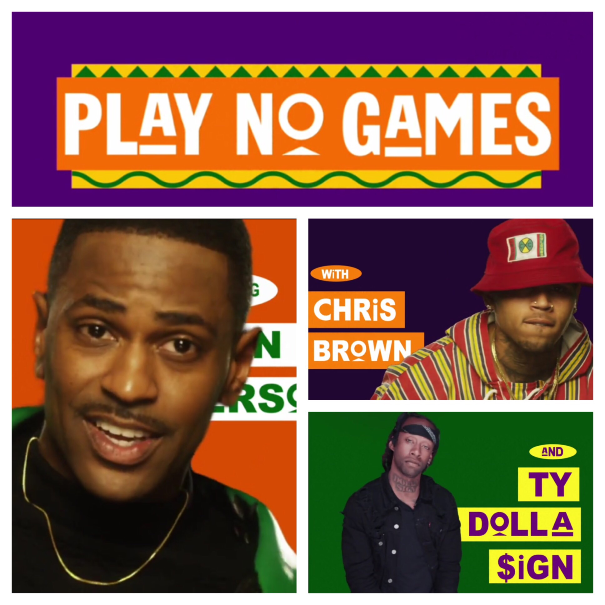Big Sean - Play No Games ft. Chris Brown, Ty Dolla $ign ...
