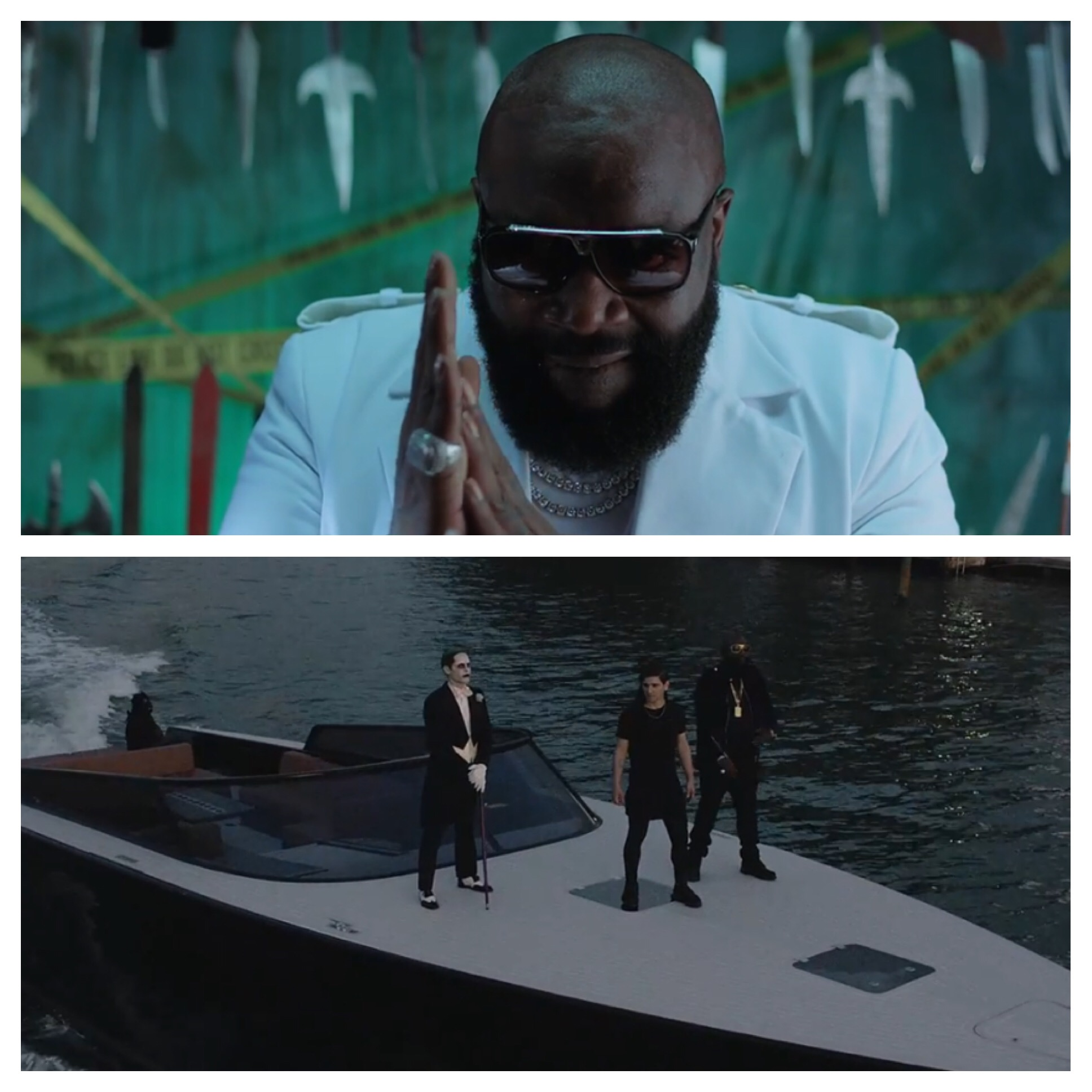 New Ish Skrillex Rick Ross Purple Lamborghini Video Can I
