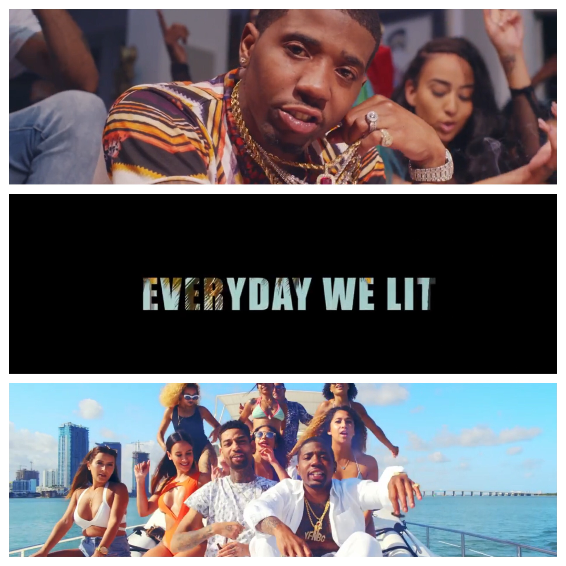 New Ish: YFN Lucci feat  PnB Rock – Everyday We Lit [Video
