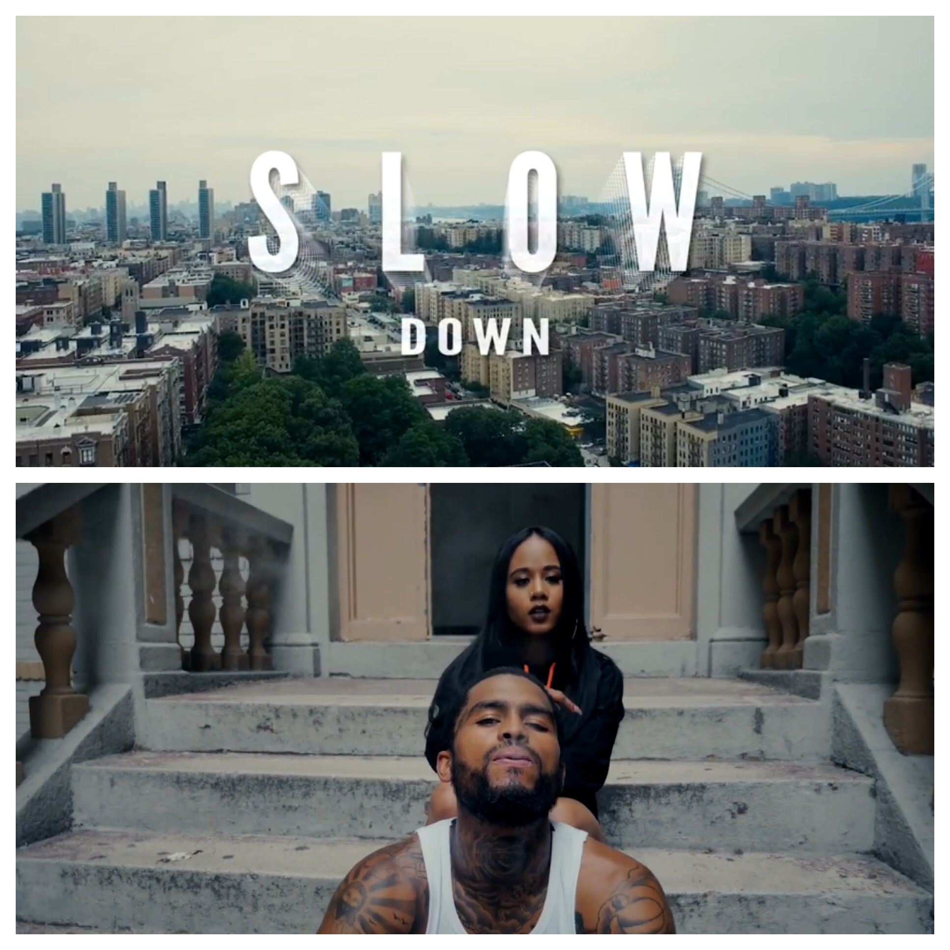 JAZZY AMRA - New Ish: Dave East feat  Jazzy Amra – Slow Down